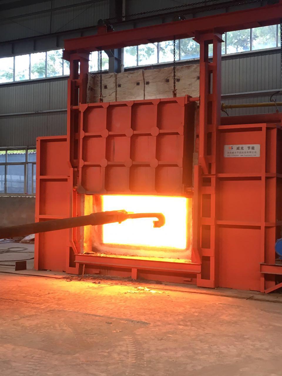 立体蓄热式贯通加热炉