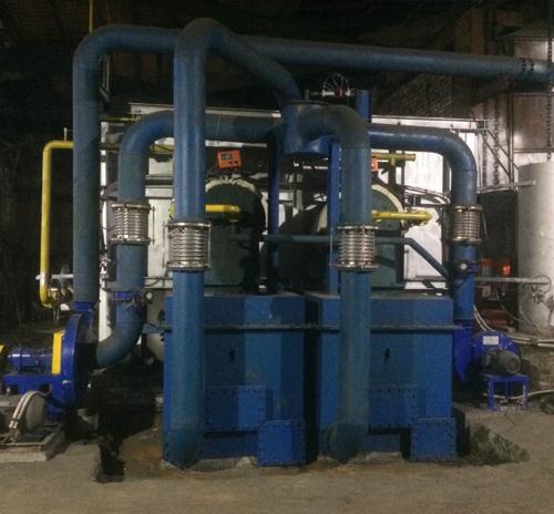 蓄热式化铝炉、熔铝炉,吨料耗气75方以下
